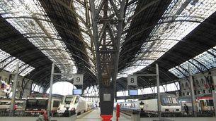 L'estació de França