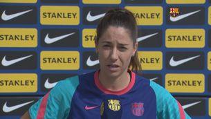 """Vicky Losada: """"L'equip sempre ha respectat les jerarquies del club"""""""