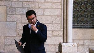 """Aragonès cita Puigneró l'endemà de la taula de diàleg: """"Hem de poder parlar amb calma"""""""