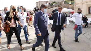 Puigdemont es reunirà amb Aragonès a l'Alguer l'endemà de ser alliberat