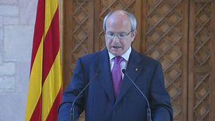 La declaració institucional de Montilla