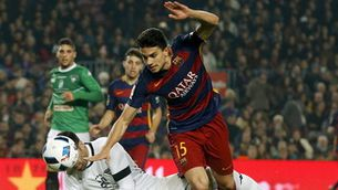 El Barça no es planteja la sortida de Bartra