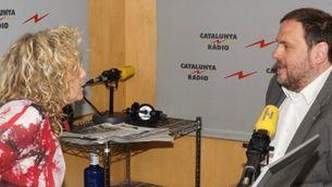 Mònica Terribas i Oriol Junqueras