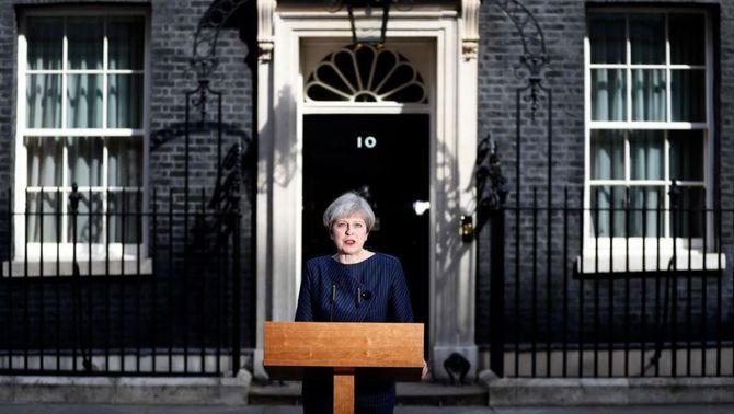 Theresa May anuncia eleccions anticipades per al 8 de juny al Regne Unit