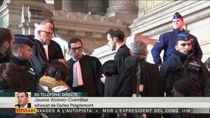 "Alonso-Cuevillas: Llarena vol evitar ""l'elevada probabilitat de rebre una bufetada de la justícia belga"""