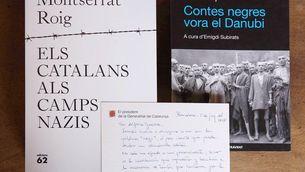 Torra envia a Guerra els llibres de Montserrat Roig i Roc Llop sobre el nazisme