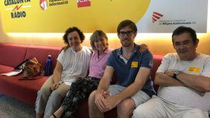 Mari Pau, Nina Avrova, Jordi Mesalles i Antonio de la Casa