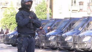 1.300 policies i guàrdies civils reforçaran la seguretat per la sentència del procés