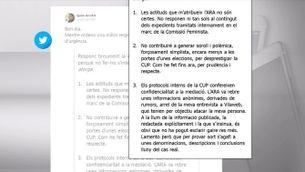 Quim Arrufat nega les acusacions d'agressió sexual