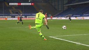 La pífia del porter del Bayer Leverkusen