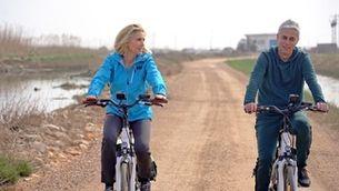 """""""Aire lliure"""" fa ruta en bici pel delta de l'Ebre amb Albert Om"""