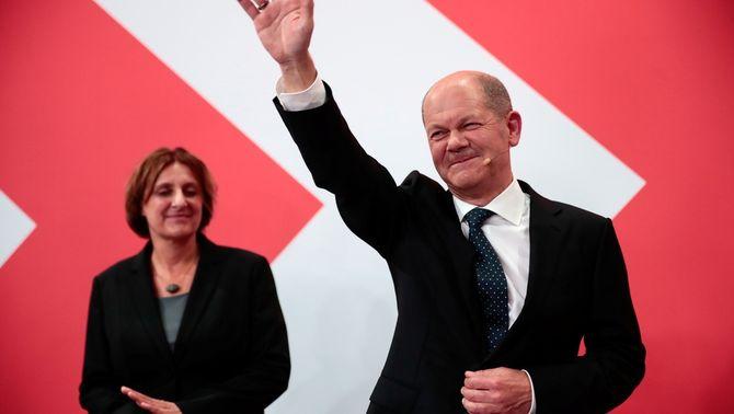 Els socialdemòcrates guanyen a Alemanya per la mínima i hauran de pactar per governar