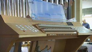 El primer orgue de la Sagrada Família, acabat