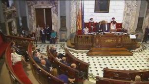 València: la investidura de Joan Ribó