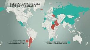 """Qui són els principals implicats en l'escàndol dels """"papers de Panamà""""?"""