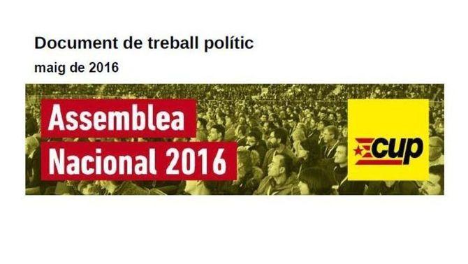 """La CUP exigirà a Puigdemont passos clars """"cap a la ruptura"""""""