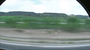El viatge de Puigdemont a Madrid, des de l'AVE
