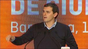 Ciutadans ratifica Albert Rivera com a candidat