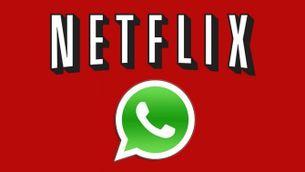 Netflix i WhatsApp