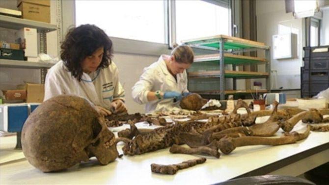 Esquelets de fosses comunes