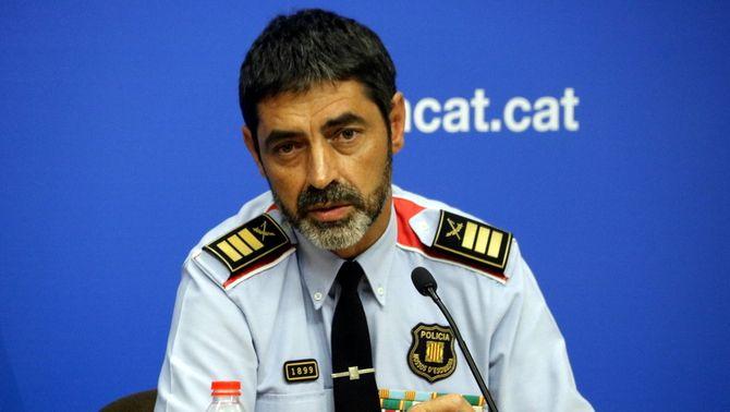 El major dels Mossos d'Esquadra, Josep Lluís Trapero, en una imatge d'arxiu (ACN)
