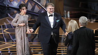 "And the Oscar goes to ""The Shape of Water"""