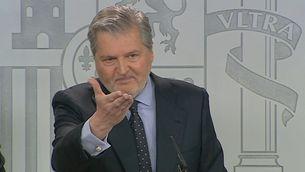 Íñigo Méndez de Vigo, ministre portaveu del govern espanyol