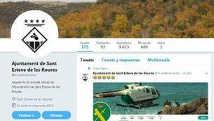 Twitter Sant Esteve de les Roures