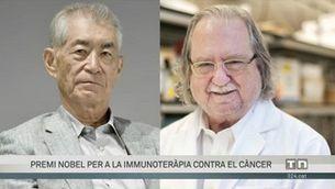 Premi Nobel de Medicina a dos científics per tractaments contra el càncer