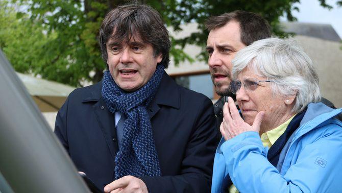Cs i PP porten al TC la sentència que permet a Puigdemont presentar-se a les europees