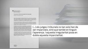 """El president Torra critica la """"celeritat interessada"""" de la justícia en saber que serà jutjat el 25 i 26 de setembre"""