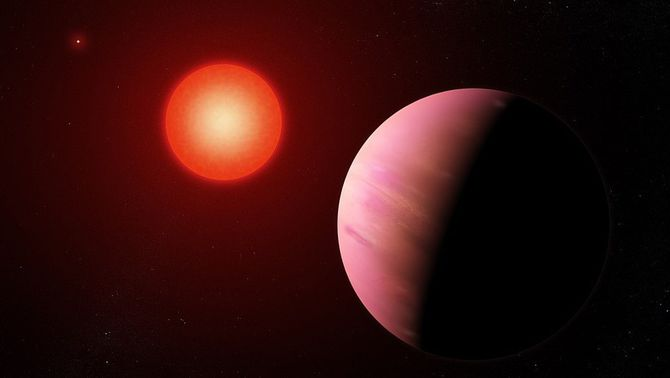 Detectat vapor d'aigua en un planeta habitable fora del Sistema Solar