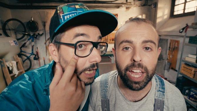 """En Peyu i el Jair triomfen en l'estrena digital de """"Bricoheroes"""""""