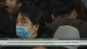La Xina confirma que el coronavirus semblant al SARS es contagia entre humans