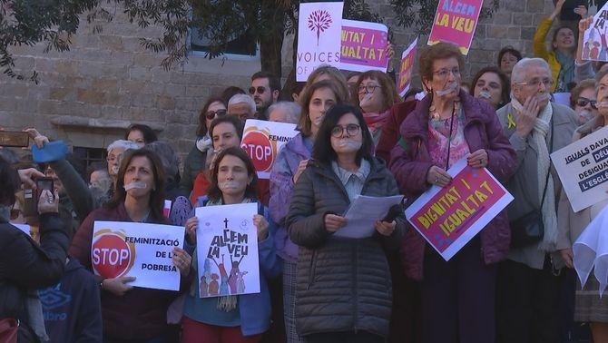 Dones creients alcen la veu a Barcelona contra el masclisme de l'Església catòlica