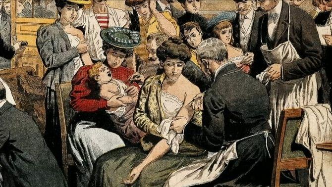 La verola va flagel·lar la humanitat i va donar peu a la primera vacuna
