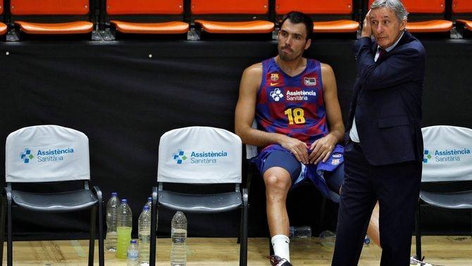 Svetislav Pesic no continuarà a la banqueta del Barça la pròxima temporada