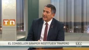 """Miquel Sàmper: """"La de Josep Lluís Trapero és una restiutució, no pas una destitució d'Eduard Sallent"""""""