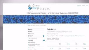 BIOCOM-SC, o com l'anàlisi de dades i els models matemàtics fan front a la Covid-19