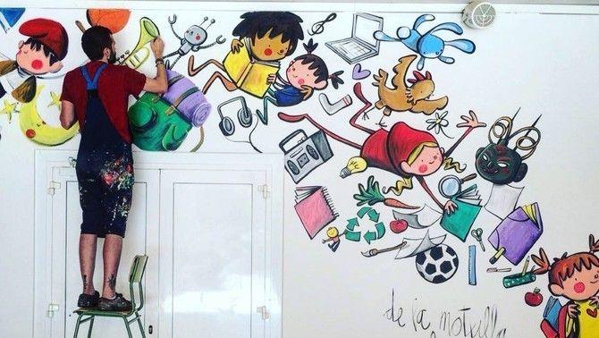 Joan Turu, l'il·lustrador que pinta l'ànima de l'escola trencant estereotips