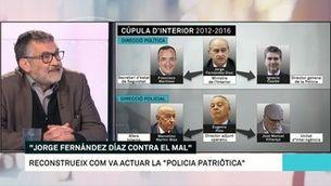 """Jaume Grau: """"Jorge Fernández Díaz creu que la religió li dona la força moral per defensar l'Estat"""""""