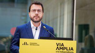 """Aragonès: """"Assumim la responsabilitat d'ungovern en solitari per iniciar la legislatura"""""""