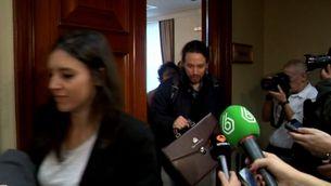 Pablo Iglesias es talla la cua després de deixar la política