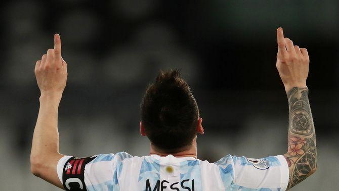 Un golàs de Leo Messi no és suficient per a l'Argentina (1-1)