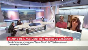 """Quinze anys de l'accident del metro de València, a """"Sense ficció"""""""