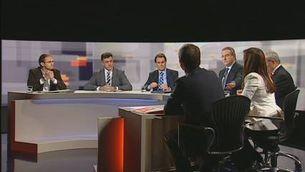"""""""Debat a 6"""" a TV3: La llengua"""