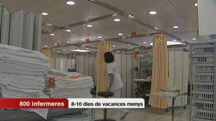 L'ERO de l'hospital de Sant Pau afectarà 1.500 treballadors