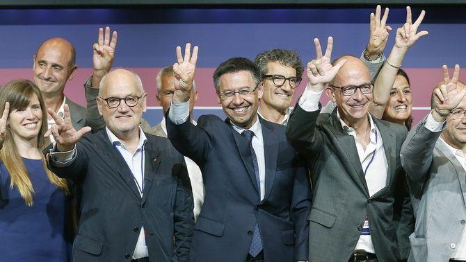 Josep Maria Bartomeu guanya les eleccions i serà el president del Barça els pròxims sis anys