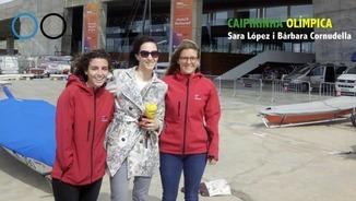 """Caipirinha olímpica"" amb Sara López i Bàrbara Cornudella"