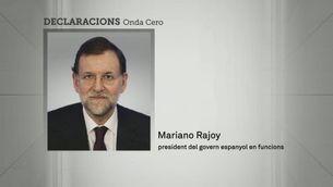 Rajoy diu que no en sabia res